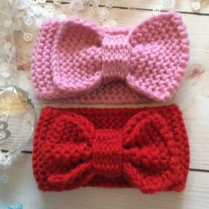 Other - Boutique Baby Girl Crocheted Headbands